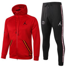 2020/21 Paris Jordan Red Hoodie Jacket Tracksuit