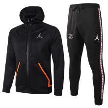 2020/21 Paris Jordan Black Hoodie Jacket Tracksuit