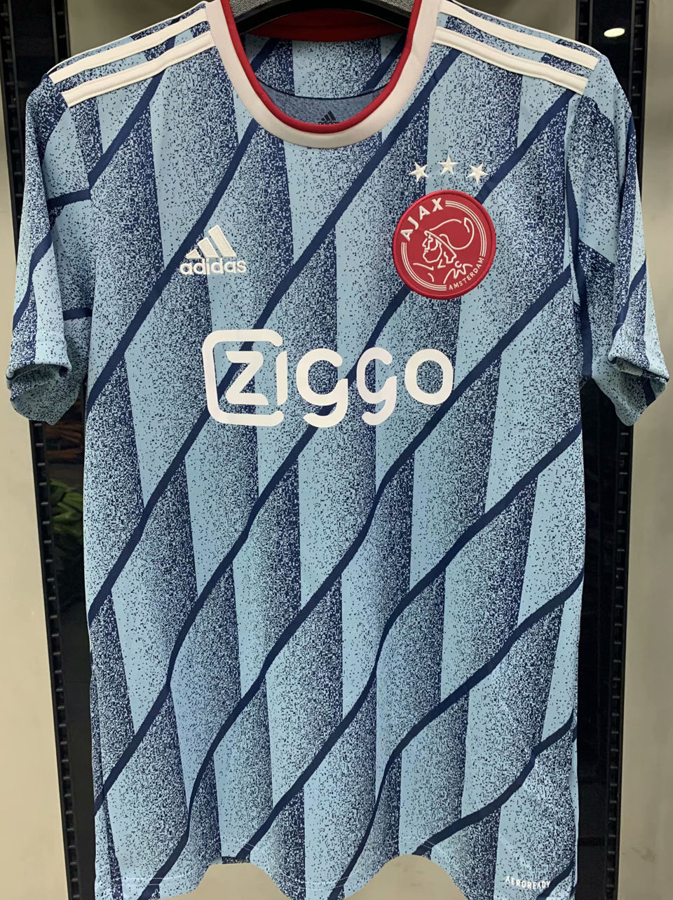 2020/21 Ajax 1:1 Quality Away Fans Soccer Jersey