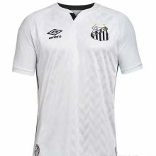2020/21 Santos 1:1 Quality White Fans Soccer Jersey