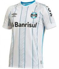 2020/21 Gremio Away White Fans Soccer Jersey (ALL Sponsors)全广告
