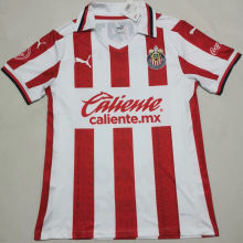 2020/21 Chivas Home Red And White Fans Soccer Jersey