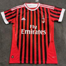 2011-2012 AC Milan Home Retro Soccer Jersey