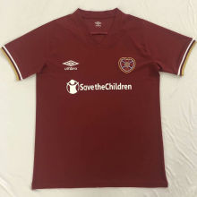 2020/21 Heart Of Midlothian Home Red Fans Soccer Jersey