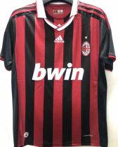 2009-2010 AC Milan Home Retro Soccer Jersey