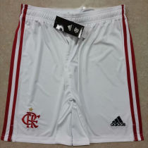 2020/21 Flamengo White Fans Shorts Pants
