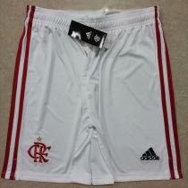 2020/21 Flamengo White Fans Shorts Pants