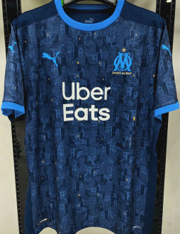 2020/21 Marseille 1:1 Quality Away Fans Soccer Jersey