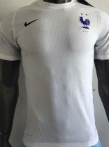 2020/21 France Away White Player Soccer Jersey