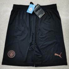 2020/21 Man City Black Shorts Pants
