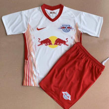 2020/21 RB Leipzig Home White Kids Soccer Jersey