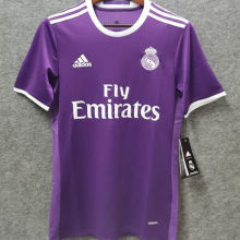 2016-2017 RM Purple Away Retro Soccer Jersey