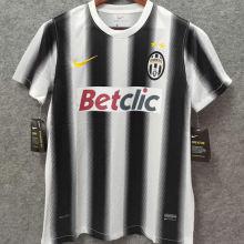2011-2012 JUV Home Retro Soccer Jersey