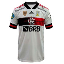2020 Flamengo Away 1:1 Fans Jersey(ALL Sponsors 全广告加补丁)
