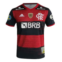 2020 Flamengo Home 1:1 Fans Jersey(ALL Sponsors 全广告加补丁)
