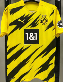 2020/21 Dortmund 1:1 Quality Yellow Fans Soccer Jersey