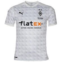 2020/21 Monchengladbach Home White Fans Soccer Jersey