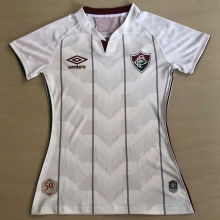 2020/21 Fluminense Away White Women Soccer Jersey