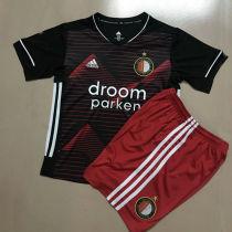 2020/21 Feyenoord Away Kids Soccer Jersey