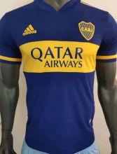 2020 Boca Home Blue Player Soccer Jerseys
