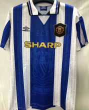 1994/96 Man United Away Retro Soccer Jersey