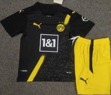 2020/21 BVB Away Kids Soccer Jersey