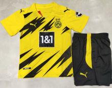 2020/21 BVB Home Kids Soccer Jersey