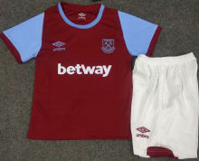 2020/21 West Ham United Home Red Kids Soccer Jersey
