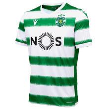 2020/21 Lisbon Home Green Fans Soccer Jersey