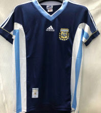 1998 Argentina Away Retro Soccer Jersey