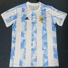 2020 Argentina Home Fans Soccer Jersey