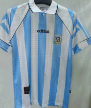 1996/97 Argentina Home Retro Soccer Jersey