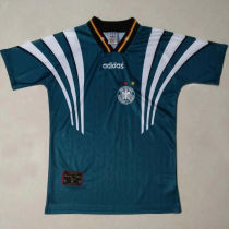 1996/98 Germany Away Green Retro Soccer Jersey