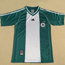 1998 Germany Away Green Retro Soccer Jersey
