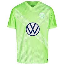 2020/21 Wolfsburg Home Green Fans Soccer Jersey