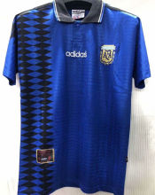 1994 Argentina Away Retro Soccer Jersey