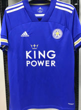 2020/21 Leicester City 1:1 Quality Home Blue Fans Soccer Jersey