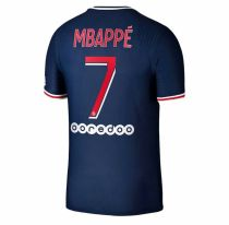MBAPPE #7 PSG 1:1 Home Fans Soccer Jersey 2020/21