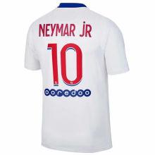NEYMAR jR #10 PSG 1:1 Away Fans Soccer Jersey 2020/21