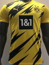 2020/21 BVB Home Yellow Player Soccer Jersey