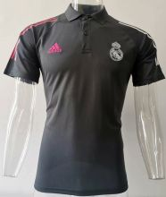 2020/21 RM Black Polo Short Jersey