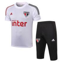 2020/21 Sao Paulo White Training Short Tracksuit