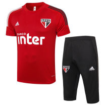 2020/21 Sao Paulo Red Training Short Tracksuit