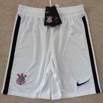 2020/21 Corinthians White Fans Shorts Pants