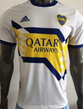 2020 Boca Away White Player Soccer Jerseys