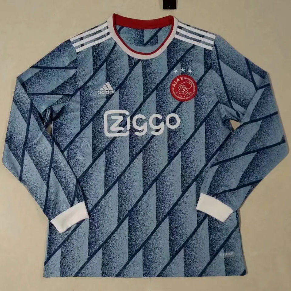2020/21 Ajax Away Long Sleeve Soccer Jersey