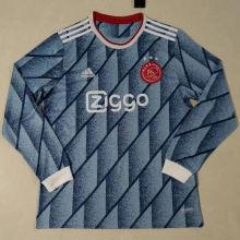2020/21 Ajax Away Long Sleeve Soccer Jersey