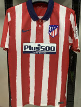 2020/21 Atletico 1:1 Quality Home Fans Soccer Jersey