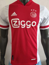 2020/21 Ajax Home Palyer Soccer Jersey
