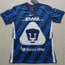 2020/21 Pumas UNAM Blue Fans Soccer Jersey